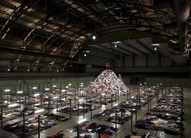 "© Park Avenue Armory.  Christian Boltanski ""No Man's Land""."
