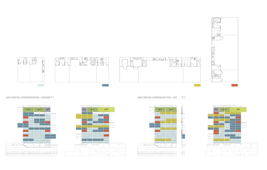 Contemporary Architecture Design Diagram Symbols Video User Tunnel