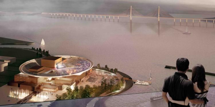 Courtesy of Henning Larsen Architects + Tomoon Architects