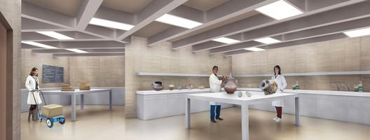 archaeological laboratory