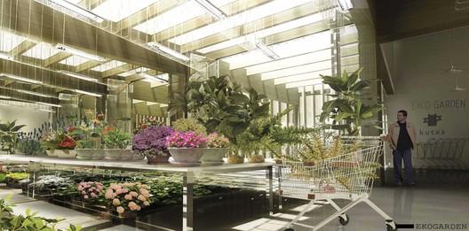 eco garden / Courtesy of BAT + Arquitecnica + LaSuma Paisajistas