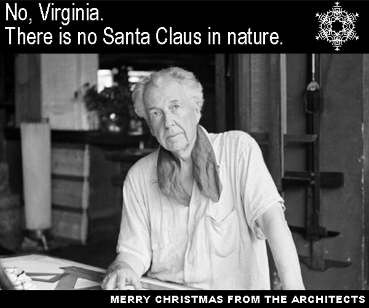 via Frank Lloyd Wright and Mother Nature