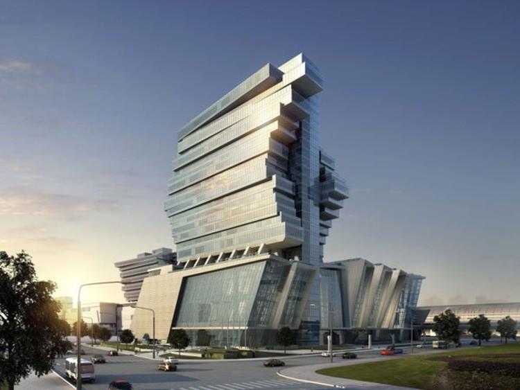 'Pazhou Exhibition Hotel' by Aedas Ltd