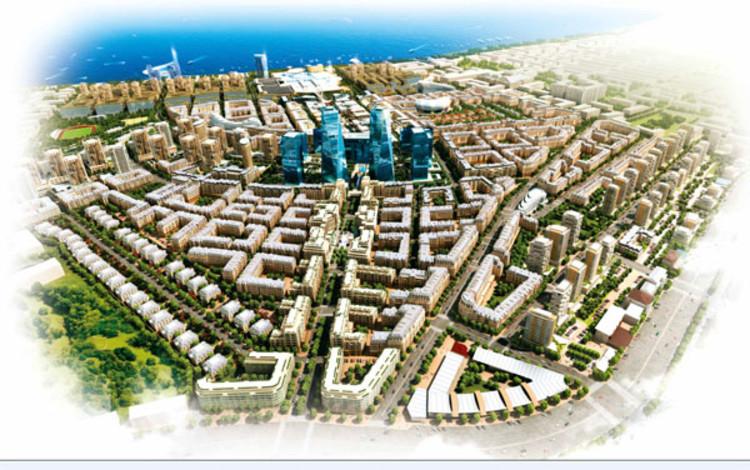 'Baku White City' by ADEC - Azerbaijan Development Company