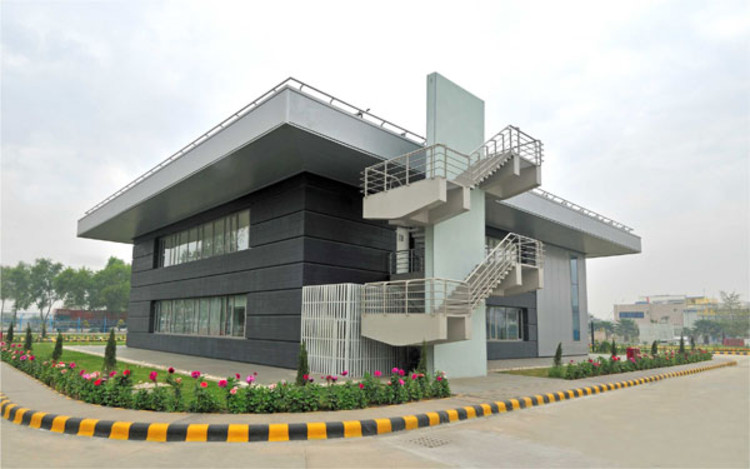 'Bayer Material Science Private Limited' by Sankalpan Architects Pvt. Ltd.
