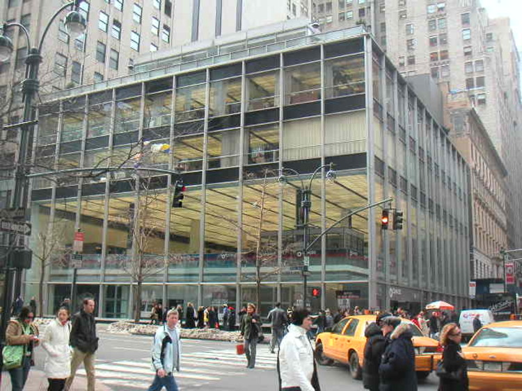 Manufacturers Trust Company by SOM © Landmarks Preservation Commission