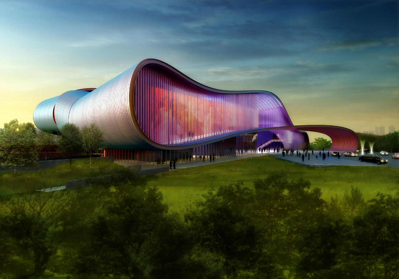 Design Concept for Bollywood Museum in Film City / Yazdani Studio ...