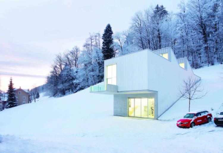 Atelier Albert Oehlen. Photo couretsy Ábalos+Sentkiewicz Arquitectos