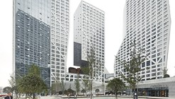 Sliced Porosity Block / Steven Holl Architects, by Hufton + Crow
