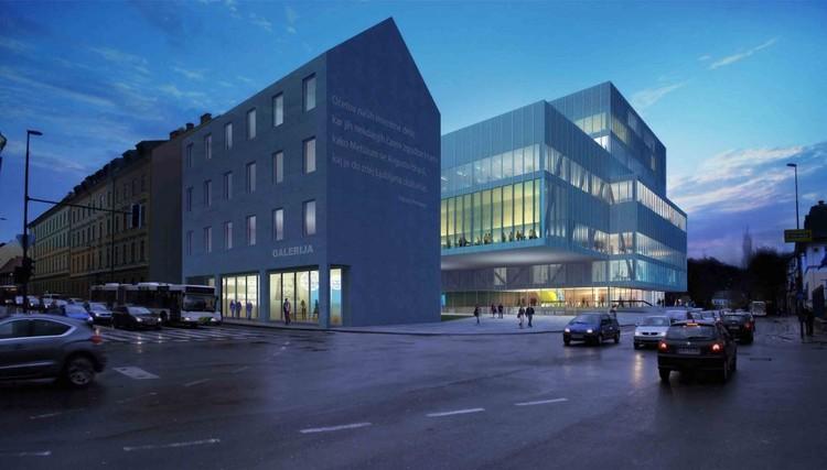 Cortesía de BARCODE Architects