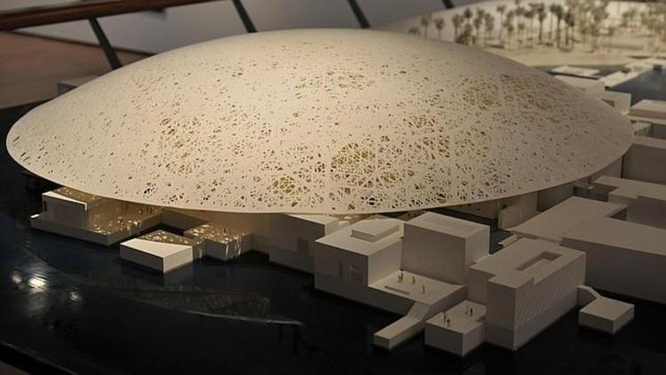 Maqueta del diseño de Jean Nouvel