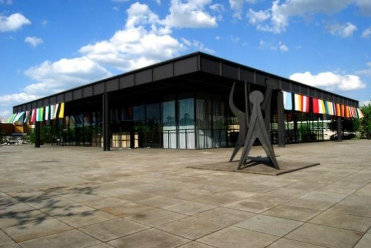 Neue National Gallery de Mies van der Rohe © Guillermo Hevia Garcia