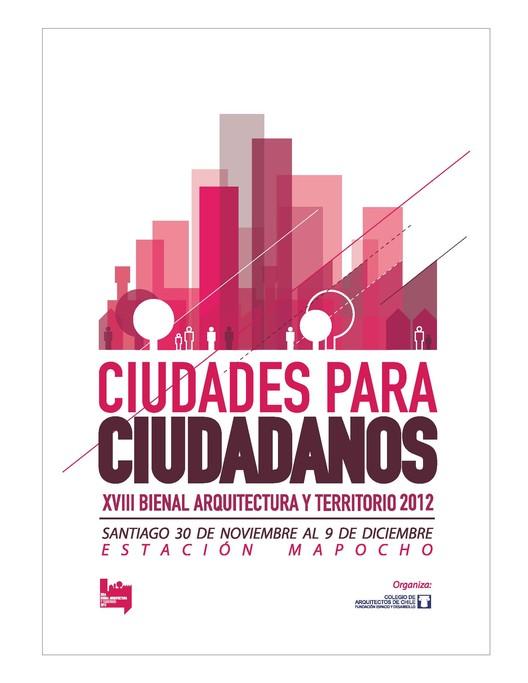 Finalistas Concurso Nacional de Afiche XVIII Bienal de Arquitectura y Territorio