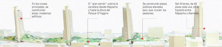 Los 4 edificios que unirían oriente con poniente