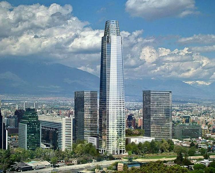 Torre Costanera Center en Santiago de Chile / Cesar Pelli