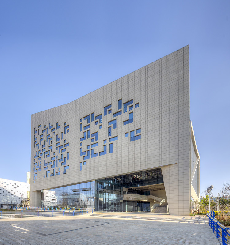 Library for Qujing Culture Center / Hordor Design Group + Atelier Alter, Courtesy of Atelier Alter