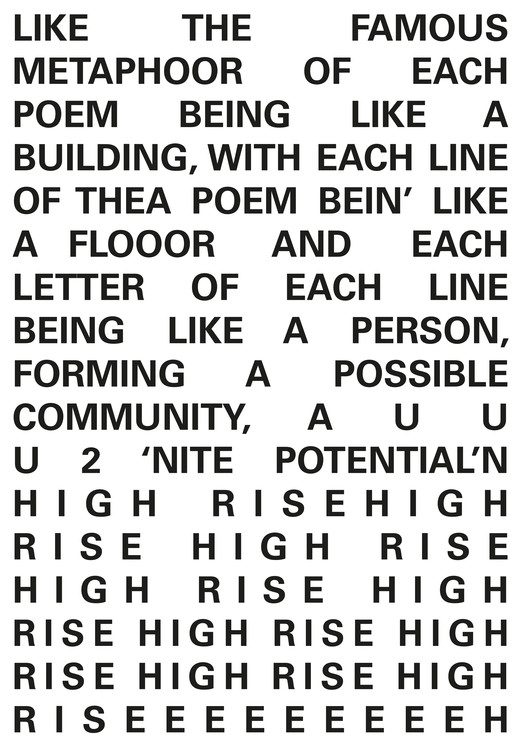 Karl Holmqvist, SKYLINE IS THE BY-LINEZZ (Excerpt), 2014