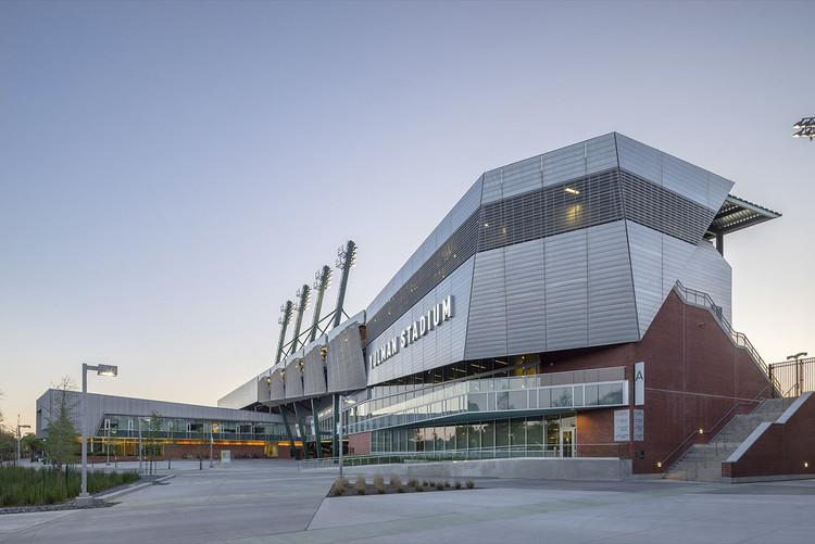Yulman Stadium at Tulane University / Gould Evans, © Tim Griffith