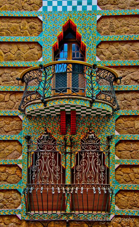 Detalle de la Casa Vicens. Image © Ian Gampon [Flickr], bajo licencia CC BY-ND 2.0
