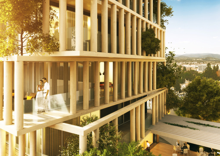 urban agency 39 s luxury apartment design twists french planning