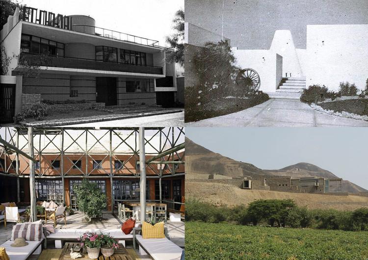 La búsqueda de la identidad en la arquitectura peruana contemporánea, Collage por Fabio Rodríguez