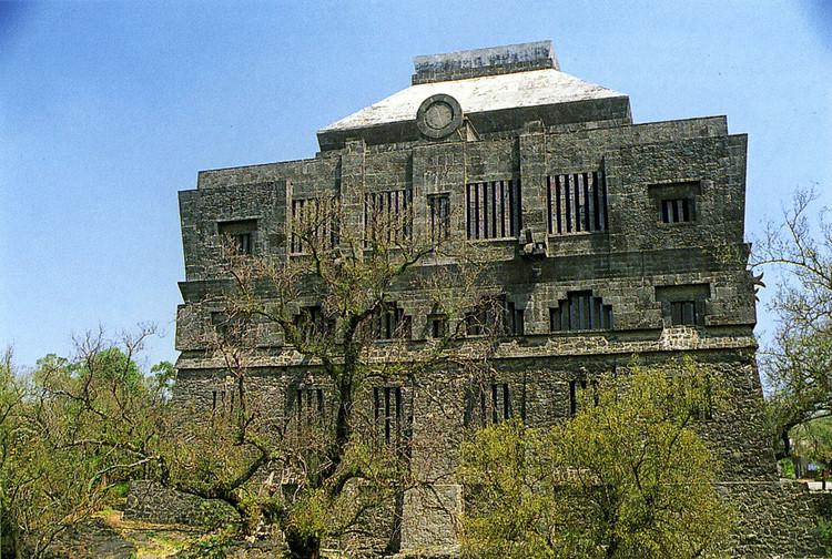 Museo de Anahuacalli. Diego Rivera. Image vía pueblosmexico.com