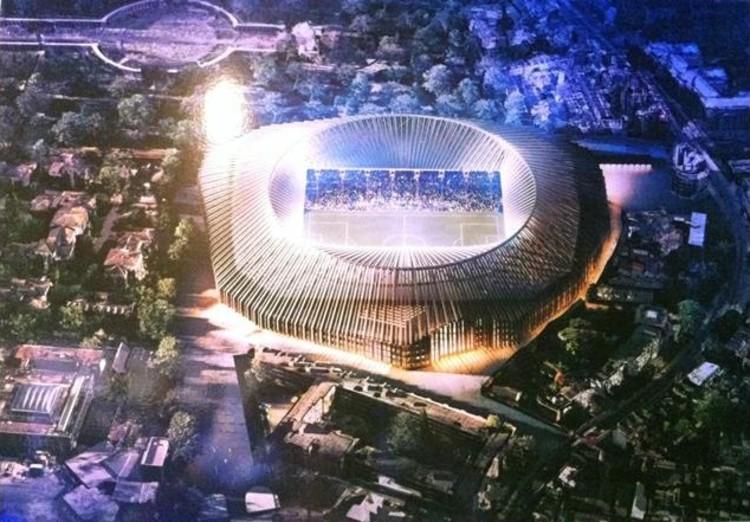 Herzog & de Meuron Unveil Designs for Chelsea Stadium, via BD Online