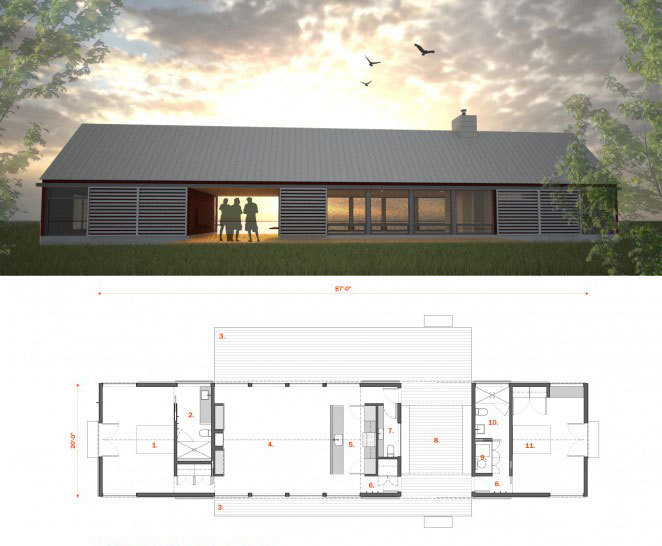 Enproyecto Arquitecturas Spanish Coastal Stone Cabin Holds More Than A Few Surprises likewise Mexico Beach House as well Interior Modern House Plane also Rattan L  Shade Design besides Wafflebox 5. on modern house design plans