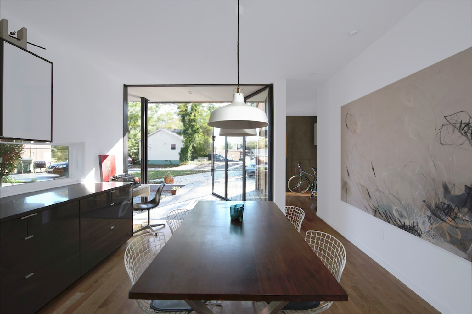 Gallery of ompact Modern Duo / he aleigh rchitecture o. - 1 - ^