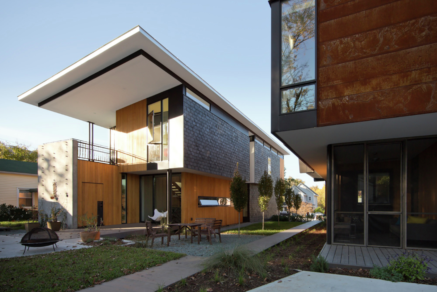 Gallery Of Compact Modern Duo The Raleigh Architecture Co