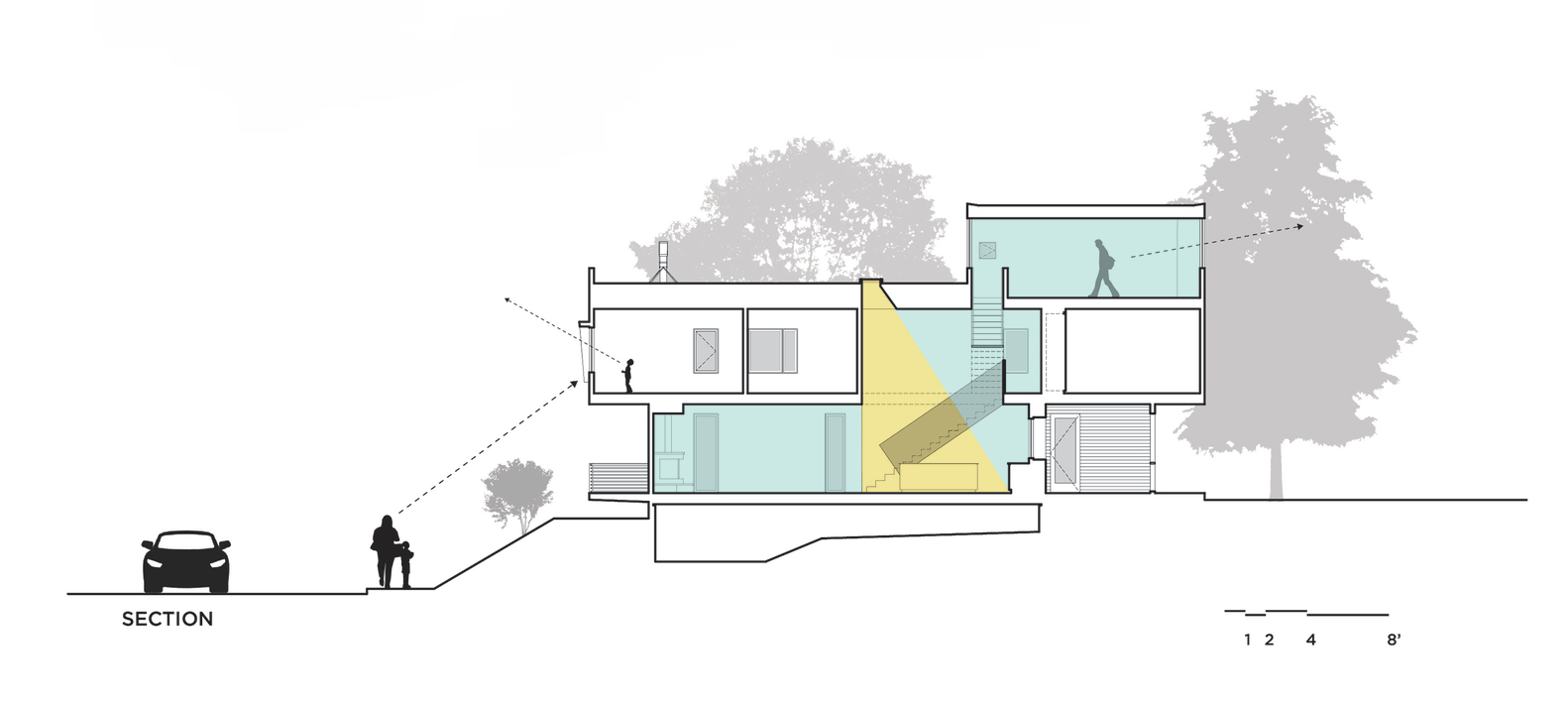 Gallery of ompact Modern Duo / he aleigh rchitecture o. - 26 - ^