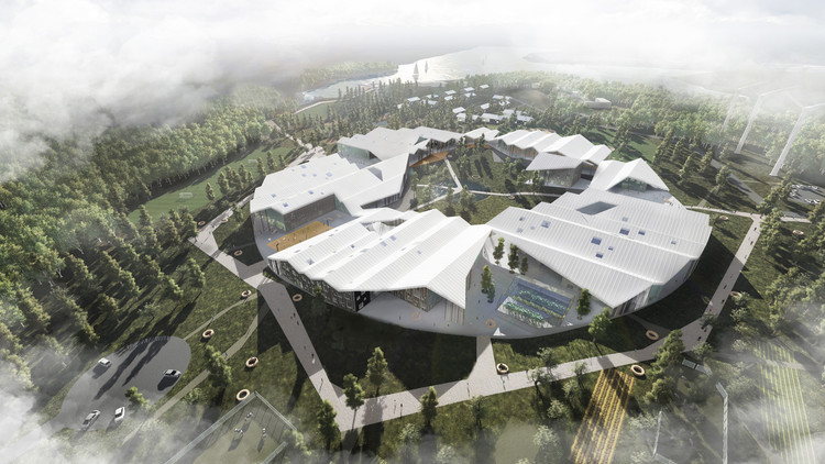 CEBRA Wins Competition to Design Smart School in Russia, Courtesy of CEBRA architecture