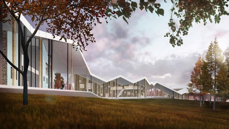 Cortesía de CEBRA architecture