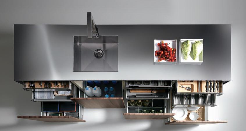 Materiales innovaci n en mobiliarios y equipamientos de - Equipamientos para cocinas ...