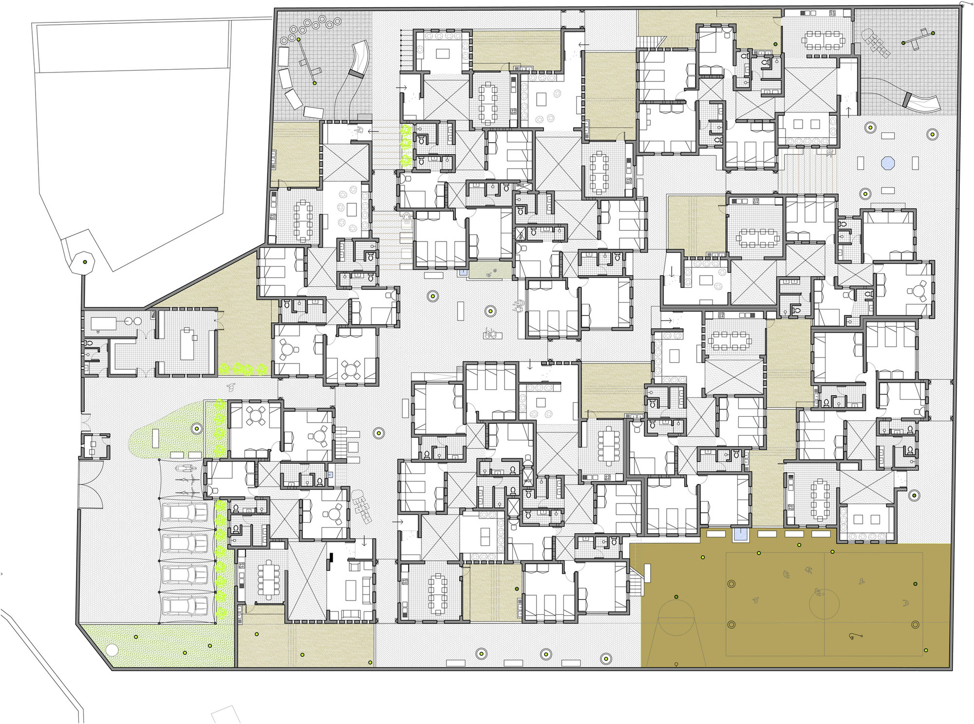 Gallery of sos children 39 s village in djibouti urko for Village style house plans