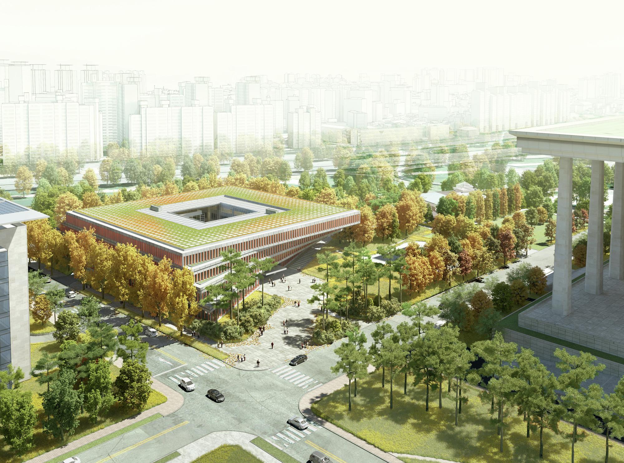 Winning Design For Seoul S National Assembly Smart Work