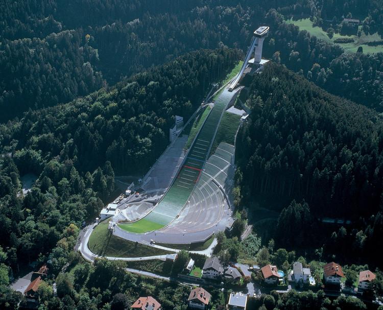 Ski Jump Bergisel, designed Zaha Hadid. Image © Innsbruck Tourismus