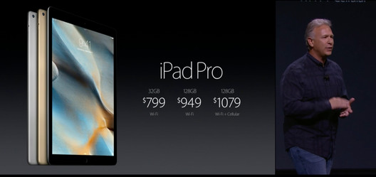iPad Pro Pricing. Via 9to5Mac