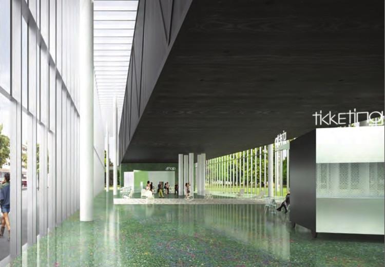 Primer lugar compartido: Gonzalez Hinz Zabala. Imagen cortesía de Bauhaus Dessau
