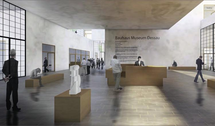 Mención: Steiner, Weißenberger Architekten. Imagen cortesía de Bauhaus Dessau