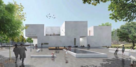 Steiner, Weißenberger Architekten - Menção. Cortesia de Bauhaus Dessau