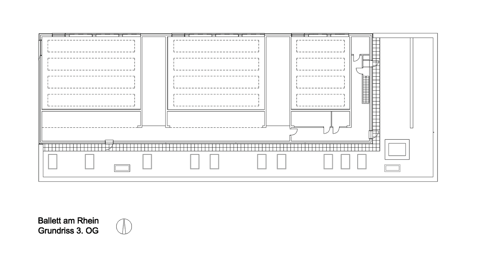Gallery of ballet am rhein gmp architekten 9 for Zeb pilot house floor plan