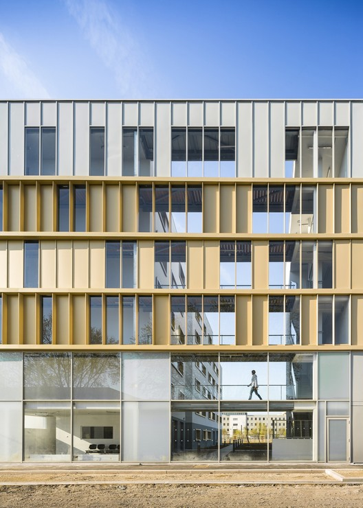 Social Housing Residence / PetitDidier Prioux Architectes, © Sergio Grazia