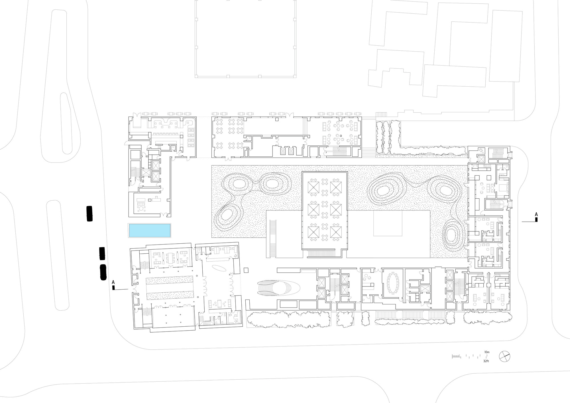 gallery of the temple house make architects 12 floor plan