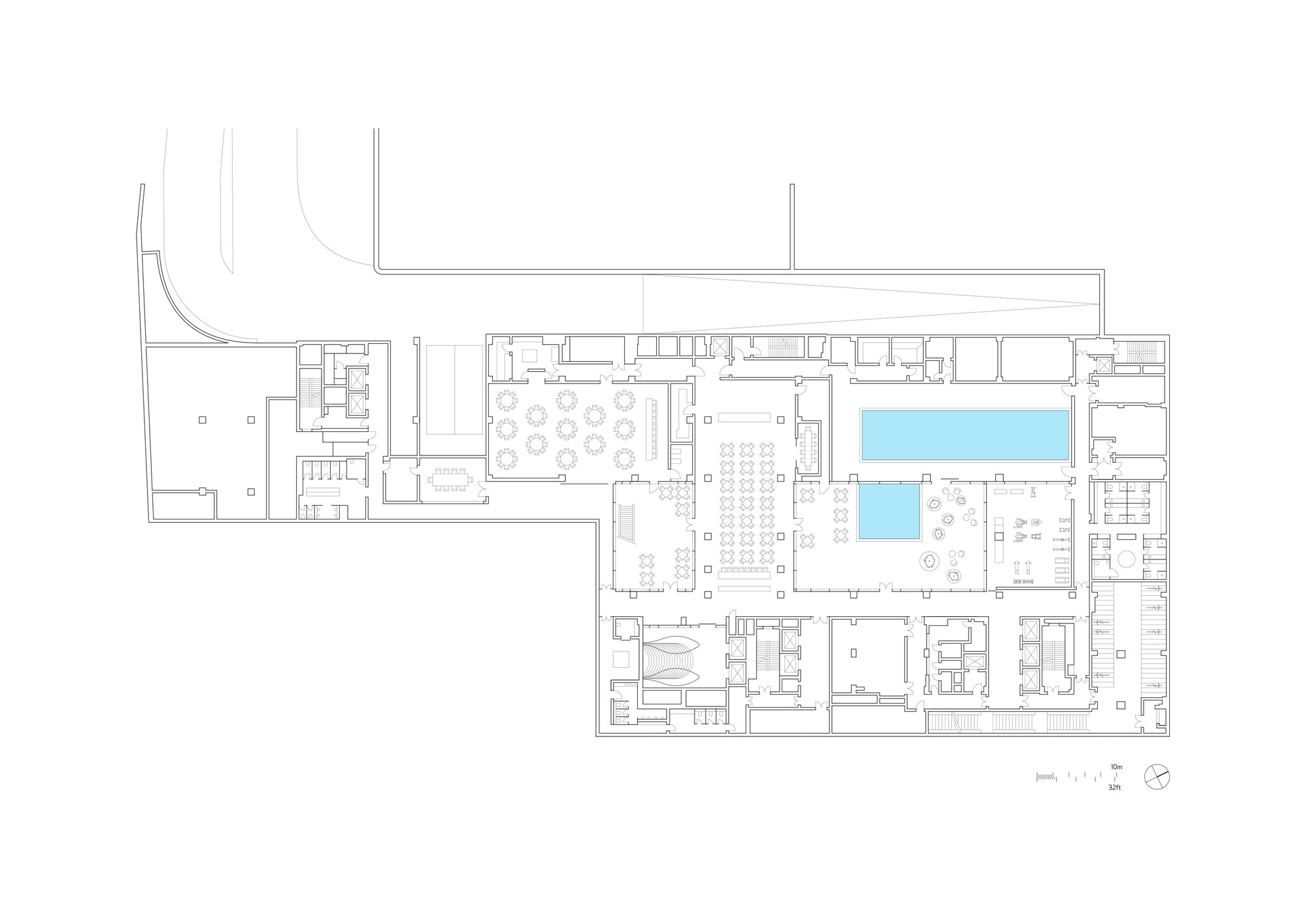 gallery of the temple house make architects 13 floor plan