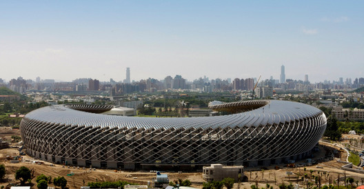 Taiwan Solar Powered Stadium by Toyo Ito