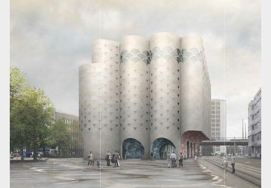 Courtesy of Caruso St John Architects