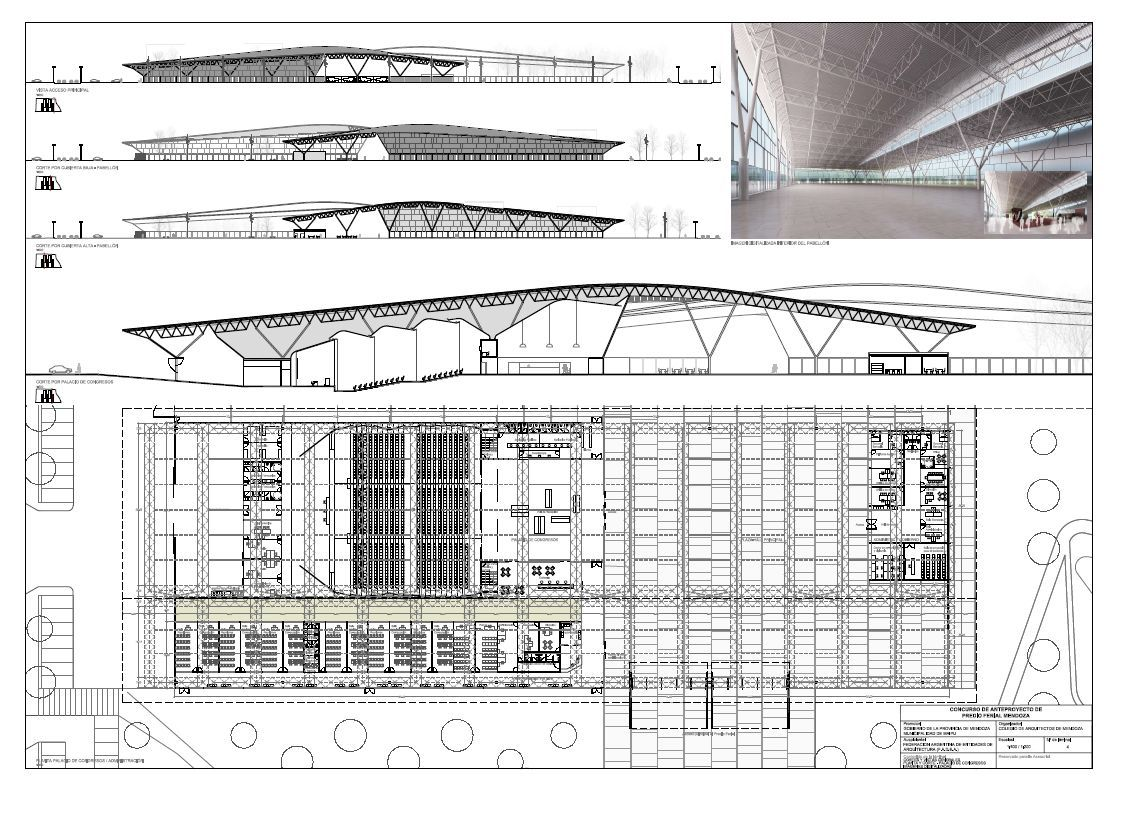 D Elevation With Plan : Gallery of new trade fair building winning proposal