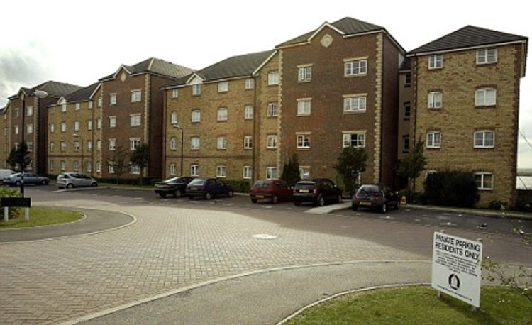 "The minister branded housing developments like Harrisons Wharf (pictured) as ""pig-ugly,"" an insult to the community. Image via the Daily Mail"