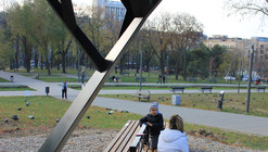 'Black Tree' Public Solar Charger / Miloš Milivojevic